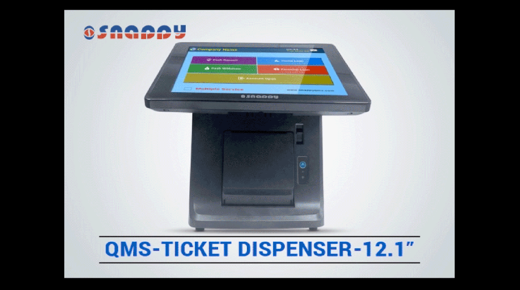 Qms Ticket Dispenser - Size 12 inch