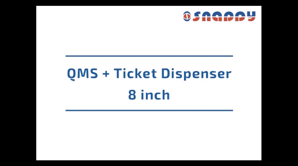 Qms Ticket Dispenser - Size 8 inch
