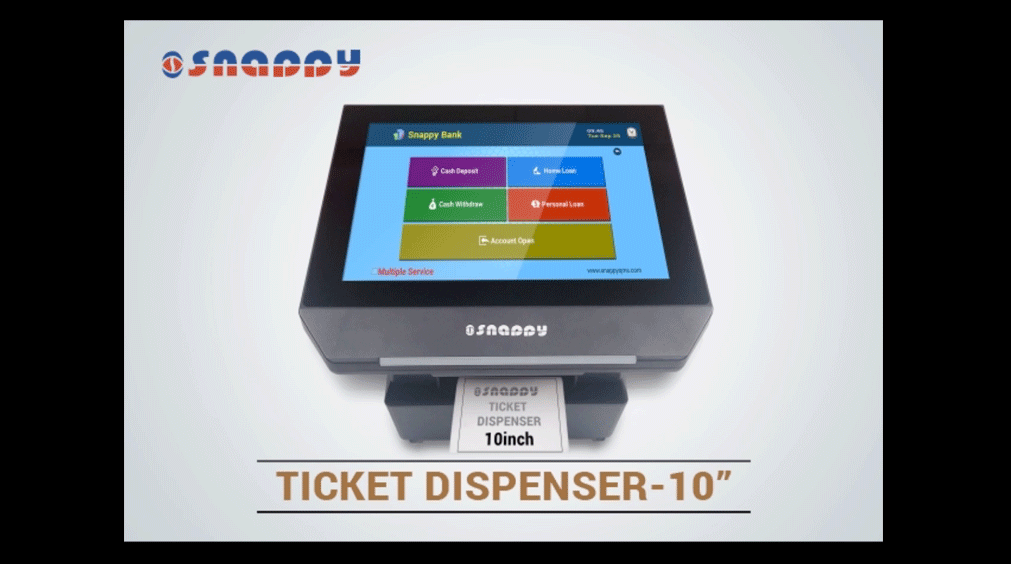 Ticket Dispenser - Size 10 inch