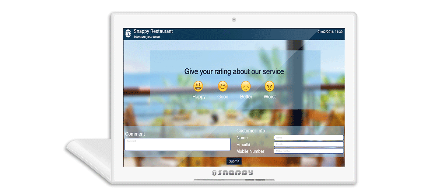 Snappy Digital Signage with Queue Management System
